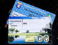 UTRECHT - NVG ( Ned. Ver. Golfaccomodaties) , 17e editie Nationaal Golf Congres & Beurs.  Nationaal Golfpaspoort. FOTO KOEN SUYK