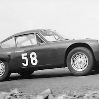 #58 Porsche 356 B 1600 GS Carrera GTL Abarth, Krugersdorp Hillclimb 1960s South Africa