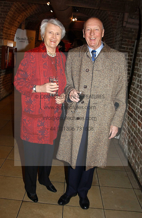 VISCOUNT &amp; VISCOUNTESS MONTGOMERY OF ALAMAIN at the annual House of Lords &amp; House of Commons Parliamentary Palace of Varieties at St.John's Smith Square, London on 27th January 2005.<br />