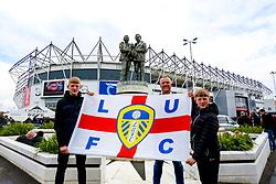Leeds United fans - Mandatory by-line: Ryan Crockett/JMP - 11/05/2019 - FOOTBALL - Pride Park Stadium - Derby, England - Derby County v Leeds United - Sky Bet Championship Play-off Semi Final 1st Leg