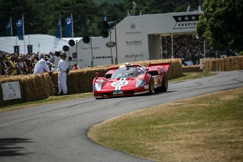 #23 Ferrari 512 S, chassi 1006, Goodwood Festival of Speed 2009