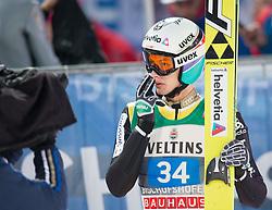 06.01.2015, Paul Ausserleitner Schanze, Bischofshofen, AUT, FIS Ski Sprung Weltcup, 63. Vierschanzentournee, Finale, im Bild Gregor Deschwanden (SUI) // Gregor Deschwanden of Switzerland reacts after his first Final Jump of 63rd Four Hills Tournament of FIS Ski Jumping World Cup at the Paul Ausserleitner Schanze, Bischofshofen, Austria on 2015/01/06. EXPA Pictures © 2015, PhotoCredit: EXPA/ Johann Groder