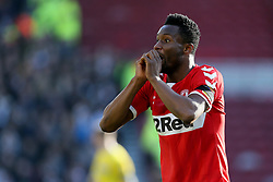 Middlesbrough's John Obi Mikel during the Sky Bet Championship match at The Riverside Stadium, Middlesbrough.