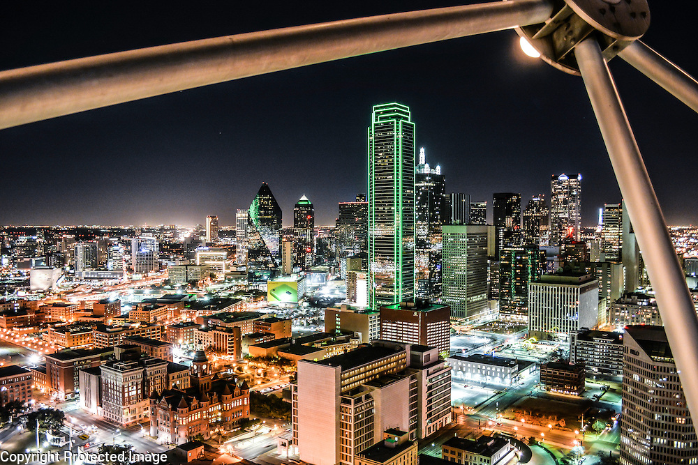 Downtown Dallas, as seen from Reunion Tower