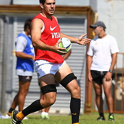 Cape Town, SOUTH AFRICA,  12, February  2016 - Guido Petti during the Captain Run for The Jaguares at City Park Newlands Rugby Stadium Cape Town, South Africa. (Photo by Steve Haag)<br /> <br /> Images for social media must have consent from Steve Haag