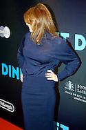 AMSTERDAM - In Pathé Tuschinski is de Nederlandse film 'Het Diner' in premiere gegaan. Met hier op de foto Kim van Kooten. FOTO LEVIN DEN BOER - PERSFOTO.NU