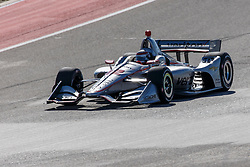 February 12, 2019 - U.S. - AUSTIN, TX - FEBRUARY 12: Will Power (12) in a Chevrolet powered Dallara IR-12 approaches turn 2 during the IndyCar Spring Training held February 11-13, 2019 at Circuit of the Americas in Austin, TX. (Photo by Allan Hamilton/Icon Sportswire) (Credit Image: © Allan Hamilton/Icon SMI via ZUMA Press)