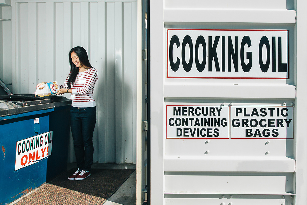 Cassandra Lin, founder of Turn Grease Into Fuel