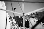 Yuki Tsubota during Ski Slopestyle Practice at the 2016 X Games Aspen in Aspen, CO. ©Brett Wilhelm/ESPN