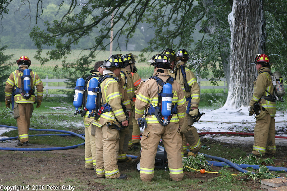 Multi-Agency Fire training in Verona<br />