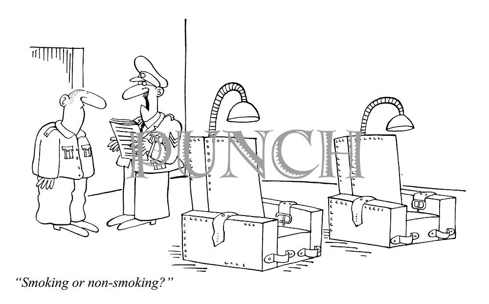 """Smoking or non-smoking?"""
