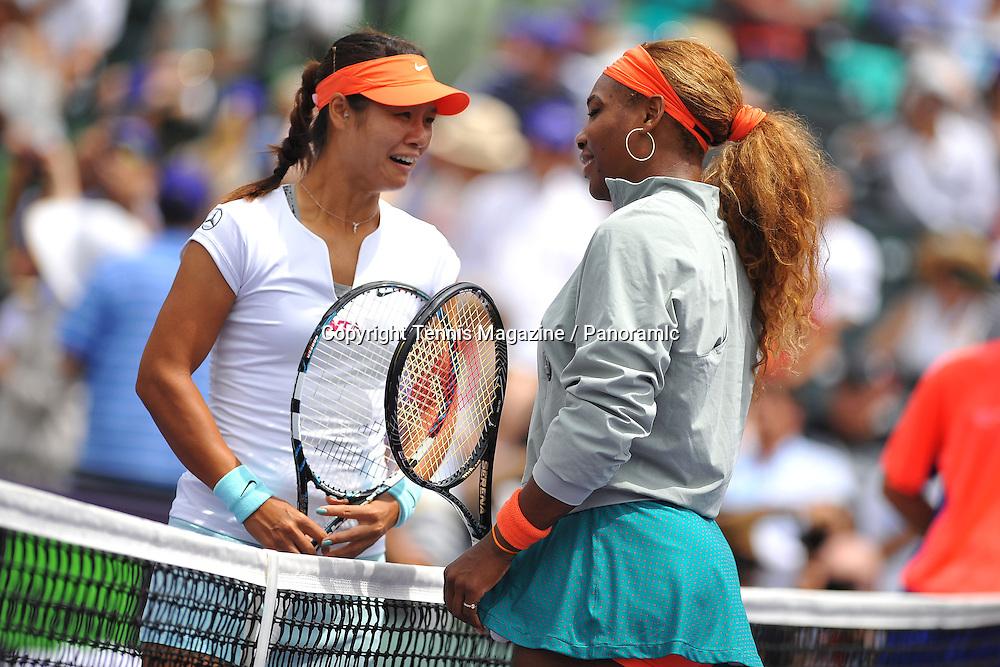Na Li (CHN)<br /> Serena Williams (USA)