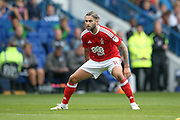 Nottingham Forest midfielder Henri Lansbury (10)  during the EFL Sky Bet Championship match between Sheffield Wednesday and Nottingham Forest at Hillsborough, Sheffield, England on 24 September 2016. Photo by Simon Davies.