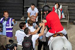 Wathelet Gregory, BEL, MJT Nevado S, Delaunay Pauline, FRA<br /> European Championship Jumping<br /> Rotterdam 2019<br /> © Hippo Foto - Dirk Caremans