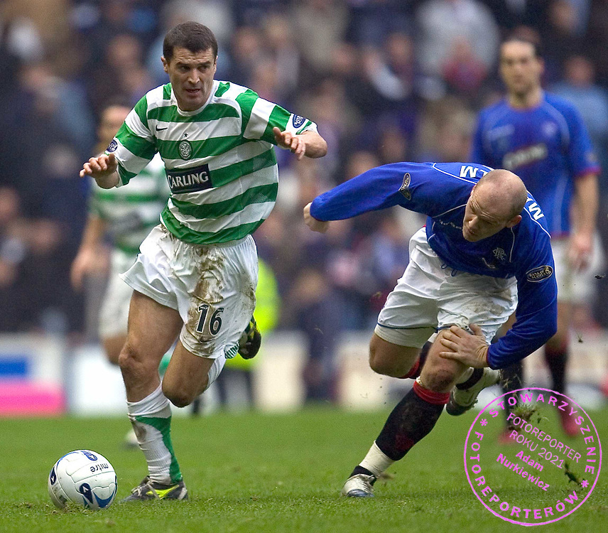 Roy Keane gets better of Bob Malcolm