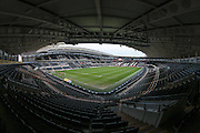 General view of the KC Stadium before the Sky Bet Championship match between Hull City and Nottingham Forest at the KC Stadium, Kingston upon Hull, England on 15 March 2016. Photo by Mark P Doherty.