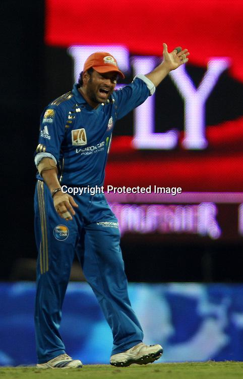 Sachin Tendulkar, Indian Premier League twenty20 cricket final, Mumbai Indians v Chennai Super Kings, 26 April 2010.