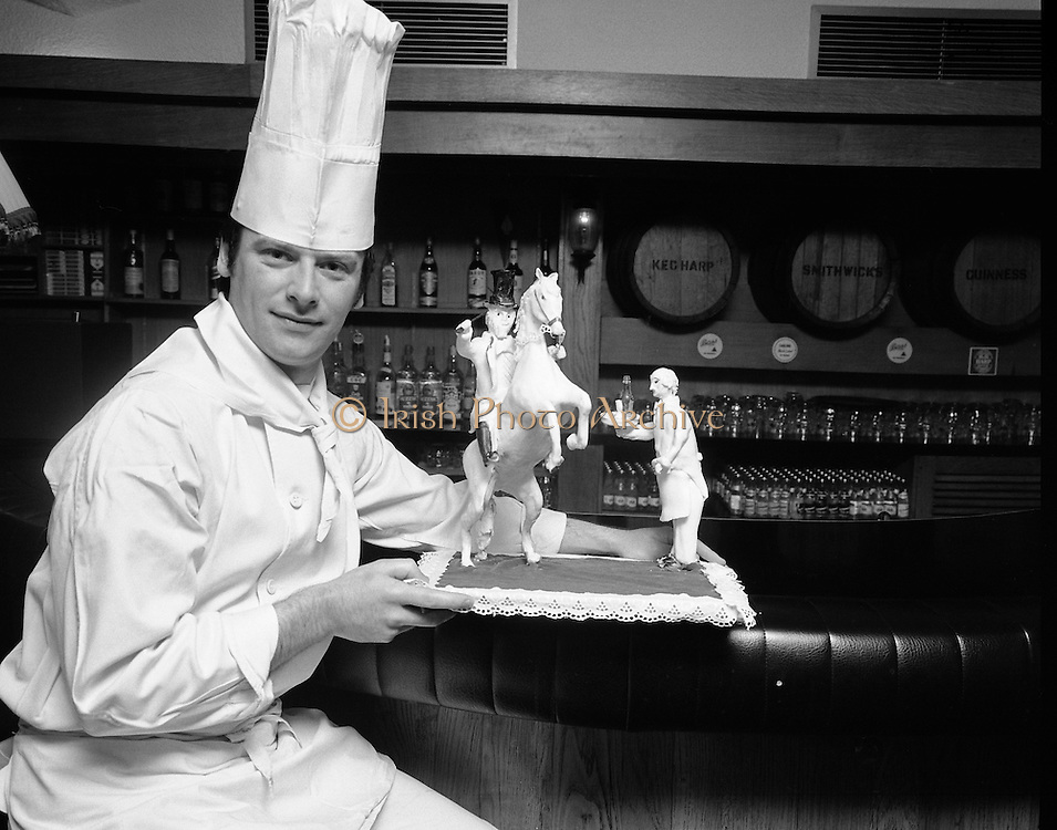 Greshem Hotel, Chef with 'The Bird Flanagan' 07/06/1978