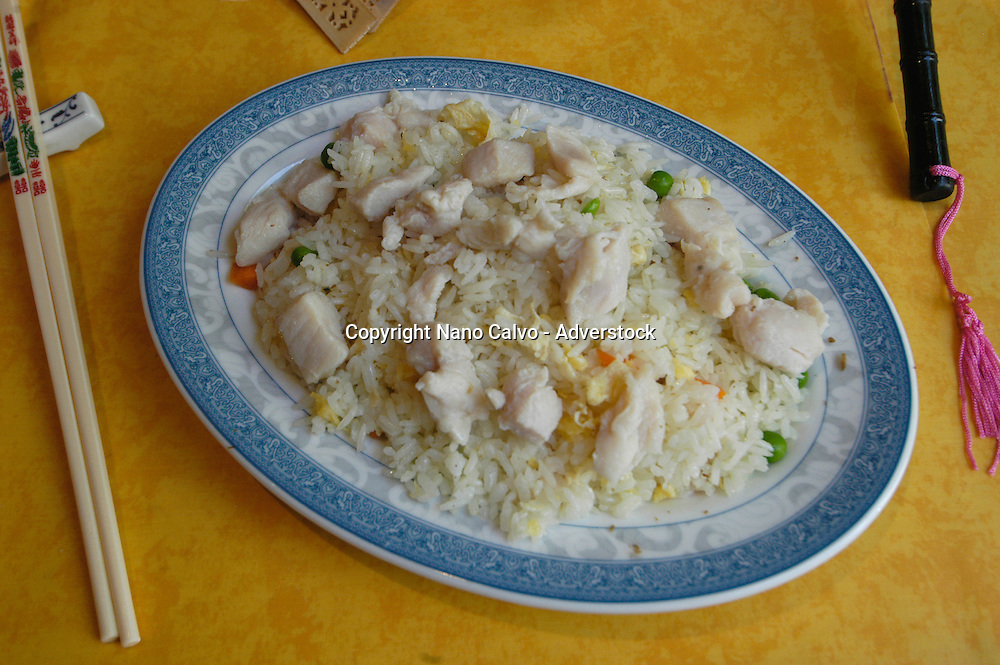 Chicken fried rice © Nano Calvo  - VWPics.com