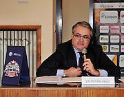 Pesaro , 06/03/2012<br /> Basket, conferenza stampa presentazione all star game 2012<br /> Nella foto: valentino renzi<br /> Foto Ciamillo