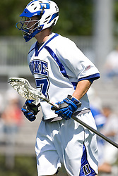 06 May 2007: Duke Blue Devils defenseman Casey Carroll (37) during a 19-6 victory over the Air Force Falcons at Koskinen Stadium in Durham, NC.