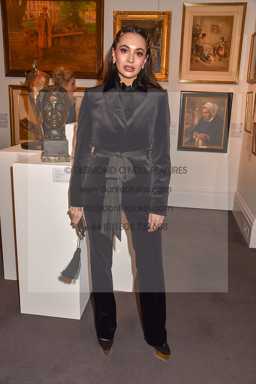 Zara Martin at the Women for Women International #SheInspiresMe Auction held at Sotheby's New Bond Street, England. 19 November 2018. <br /> <br /> ***For fees please contact us prior to publication***