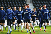 Derby County midfielder Max Bird  in the warm up during the EFL Sky Bet Championship match between Derby County and Blackburn Rovers at the Pride Park, Derby, England on 8 March 2020.