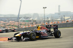 29.10.2011, Jaypee-Circuit, Noida, IND, F1, Grosser Preis von Indien, Noida, im BildMark Webber (AUS), Red Bull Racing // during the Formula One Championships 2011 Large price of India held at the Jaypee-Circui 2011-10-29  EXPA Pictures © 2011, PhotoCredit: EXPA/ nph/  Dieter Mathis       ****** out of GER / CRO  / BEL ******