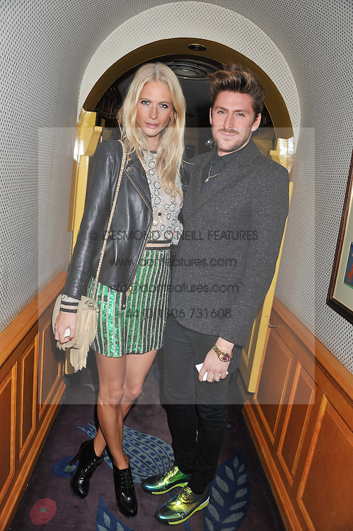 The PAD London 2012 dinner was held at Annabel's, Berkeley Square, London on 10th October 2012.<br /> POPPY DELEVIGNE and HENRY HOLLAND