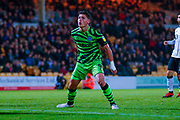 Forest Green Rovers Matty Stevens(9)  during the EFL Sky Bet League 2 match between Port Vale and Forest Green Rovers at Vale Park, Burslem, England on 20 August 2019.