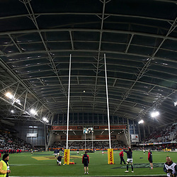 Forsyth Barr Stadium, Dunedin, during game 4 of the British and Irish Lions 2017 Tour of New Zealand,The match between  Highlanders and British and Irish Lions, Forsyth Barr Stadium, Dunedin, Tuesday 13th June 2017<br /> (Photo by Kevin Booth Steve Haag Sports)<br /> <br /> Images for social media must have consent from Steve Haag