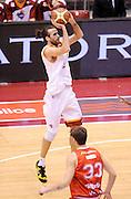 DESCRIZIONE : Milano Coppa Italia Final Eight 2013 Semifinale Cimberio Varese Acea Roma<br /> GIOCATORE : Luigi Datome<br /> CATEGORIA : tiro<br /> SQUADRA : Acea Roma<br /> EVENTO : Beko Coppa Italia Final Eight 2013<br /> GARA : Cimberio Varese Acea Roma<br /> DATA : 09/02/2013<br /> SPORT : Pallacanestro<br /> AUTORE : Agenzia Ciamillo-Castoria/A.Giberti<br /> Galleria : Lega Basket Final Eight Coppa Italia 2013<br /> Fotonotizia : Milano Coppa Italia Final Eight 2013 Semifinale Cimberio Varese Acea Roma<br /> Predefinita :