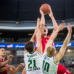 20150104: SLO, Basketball - ABA League, KK Union Olimpija vs KK Crvena Zvezda