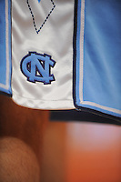 UNC Tarheels game shorts during the 2K Sports Classic at Madison Square Garden. (Mandatory Credit: Delane B. Rouse/Delane Rouse Photography)