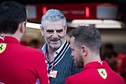 May 23-27, 2018: Monaco Grand Prix. Maurizio Arrivabene, team principal of Scuderia Ferrari