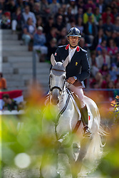 Cedric Lyard, (FRA), Cadeau du Roi - Jumping Eventing - Alltech FEI World Equestrian Games™ 2014 - Normandy, France.<br /> © Hippo Foto Team - Leanjo De Koster<br /> 31-08-14