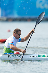 Dejan Fabcic of Slovenia competes in Canoe Sprint Men's KL2 semifinal during Day 7 of the Rio 2016 Summer Paralympics Games on September 14, 2016 in Lagoa Canoe Stadium, Rio de Janeiro, Brazil. Photo by Vid Ponikvar / Sportida