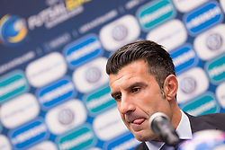 Luis Figo at media event with Luis Figo, on January 30, 2018 in Continental Hotel, Ljubljana, Slovenia. Photo by Urban Urbanc / Sportida