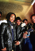 Grandmaster Flash and The Furious Five in the early 1980's.