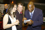 Frank Bruno, entertains at Asper in Northampton, UK, to raise money for WNAA.<br />