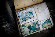 A photo album remains me of the old day.