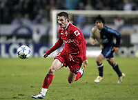 Fotball<br /> Foto: Dppi/Digitalsport<br /> NORWAY ONLY<br /> <br /> FOOTBALL - UEFA CUP 2005/2006 - GROUP STAGE - GROUP F - OLYMPIQUE MARSEILLE v DINAMO BUCAREST - 14/12/2005<br /> <br /> CRISTIAN PULHAC (DIN)