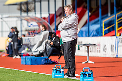 Horst Hrubesch, head coach of Germany during football match between Slovenia and Germany in Womans Qualifications for World Championship 2019, on April 10, 2018 in Sports park Domzale, Domzale, Slovenia. Photo by Ziga Zupan / Sportida