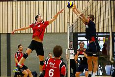 20151024 NED: Volleybal beker poule F mannen, Capelle aan de IJssel