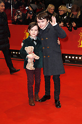 61054306<br /> Zen McGrath(L) and Winta McGrath attending the Aloft premiere at the 64th Berlin International Film Festival / Berlinale 2014, in Berlin, Germany. Wednesday, 12th February 2014. Picture by  imago / i-Images<br /> UK ONLY