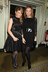 Left to right, HOFIT GOLAN and DANIELA KARNUTS at the Chain of Hope Ball held at The Dorchester, Park Lane, London on 4th February 2008.<br />