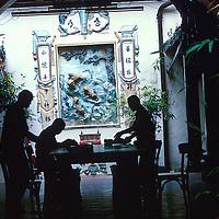 Interior, Carpenter's Guild, Love Lane, Penang, Malaysia.<br /> Photo credit : &copy;Ahmad Yusni