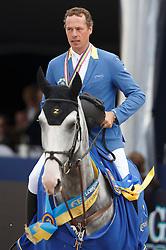 Ahlmann Christian (GER) - Hui Buh <br /> Final 5 years<br /> FEI World Breeding Jumping Championships for Young Horses - Lanaken 2014<br /> © Dirk Caremans