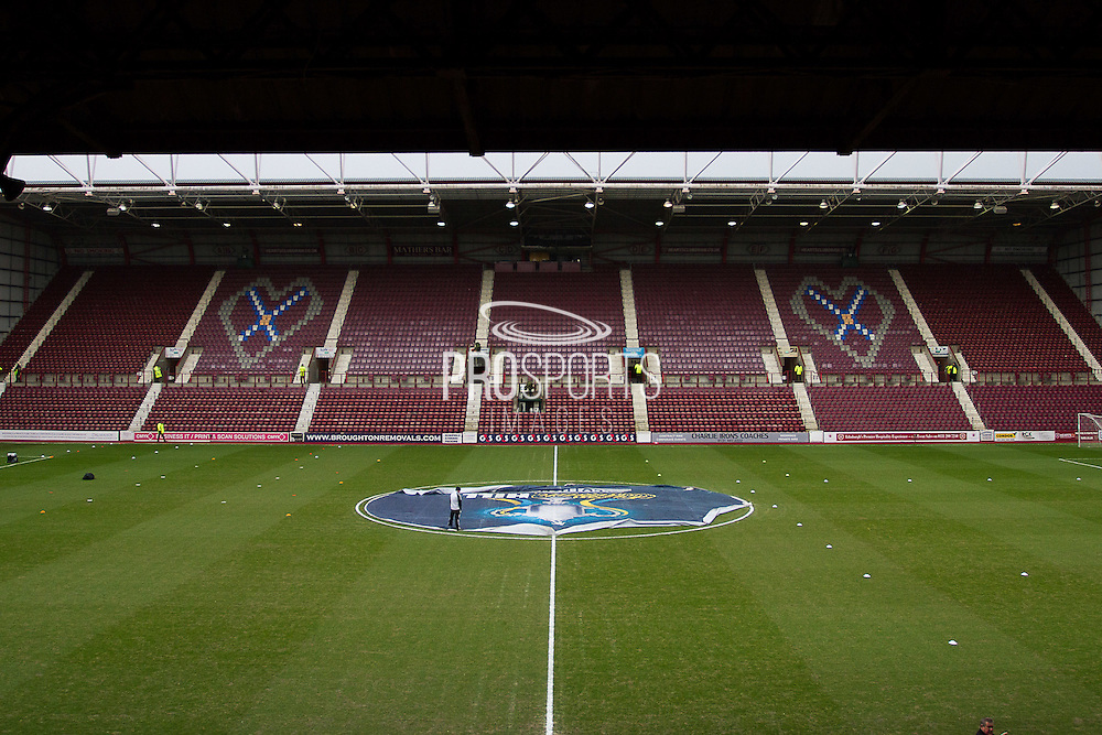Tyncastle Stadium on Derby day during the Scottish Cup 5th round match between Heart of Midlothian and Hibernian at Tynecastle Stadium, Gorgie, Scotland on 7 February 2016. Photo by Craig McAllister.