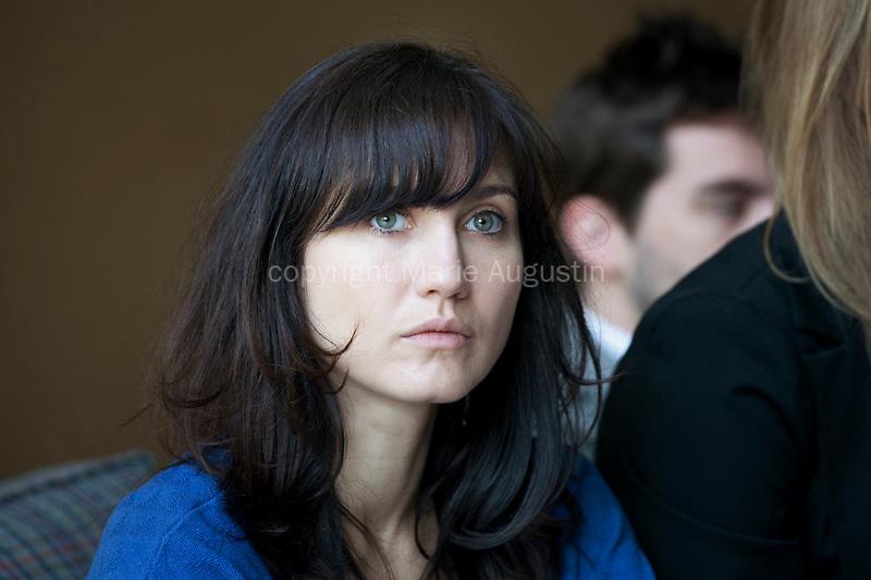 Madalina CONSTANTIN, tournage scène imposée d'Emmanuel MARRE - emergence 2011